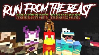 Run From The Beast !!! | Minecraft Xbox Minigame