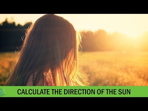 How to Calculate the Direction of the Sun