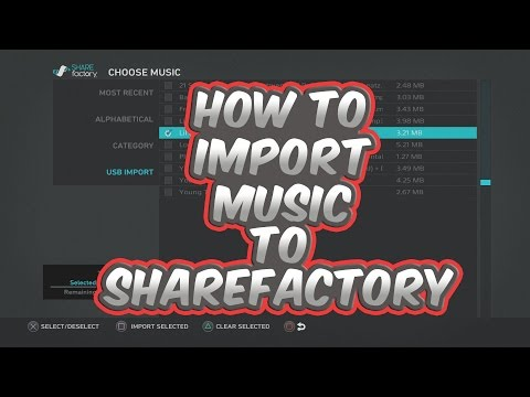 How To Import Music To  Share Factory!!!! Become A YouTuber Today!!