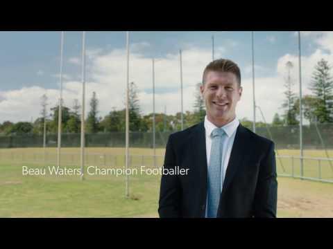 Beau Waters, AFL & WAFL Champion Footballer & REIWA Agent