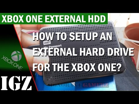 How to setup an External Hard Drive with the Xbox One? (Troubleshooting Included)