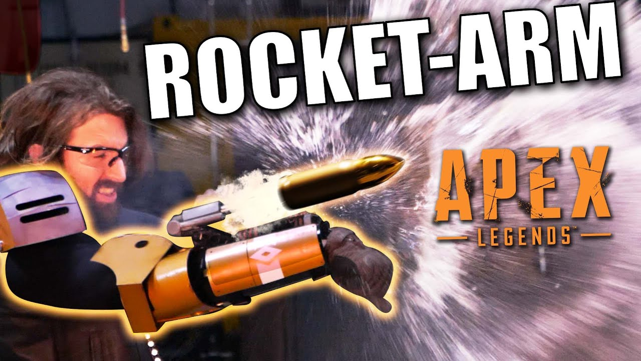 Fuse's ROCKET ARM from APEX LEGENDS!
