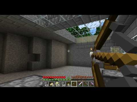Minecraft: How to Make and Use a Bow and Arrows