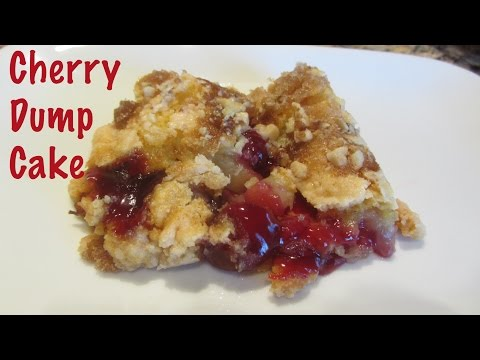 Dump Cake Ingredients Cherry Pie Filling Yellow Cake Mix