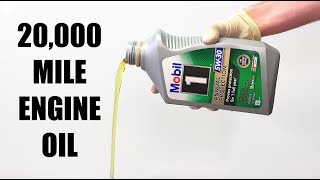 Can Engine Oil Last 20,000 Miles? — Mobil 1 Annual Protection