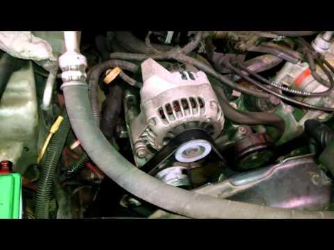 Belt noise squeal 2008 Chevrolet Trailblazer Tensioner