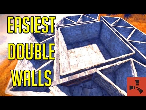 Rust Wall Stacking | Wall Stacking Tutorial | BEST Way for Wall Stacking