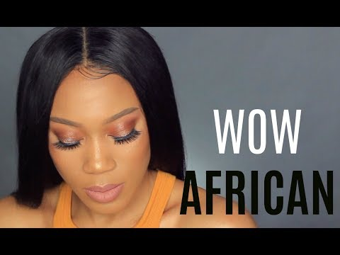 HOW TO APPLY LACE WIG FOR BEGINNERS   WOWAFRICAN