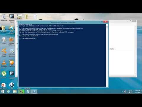 how to create adhoc in windows 8.1