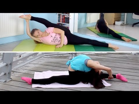 HOW TO BE FLEXIBLE FAST!💥 Best LEGS & BACK Stretches w/ ERICA LIN!