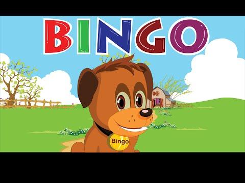 Bingo Dog Song - FlickBox Nursery Rhymes With Lyrics | Cartoon Animation for Children | Little BoBO