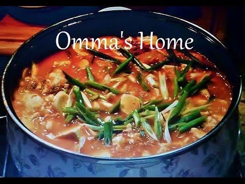 Recipe: Healthy Spicy Vegan Kimchi Soondubu Jiigae aka Kimchi Extra Soft Tofu Soup by Omma's Home