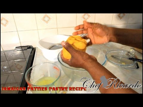 How To Making The Patty Pastry(Jamaican Pastry ) | Recipes By Chef Ricardo