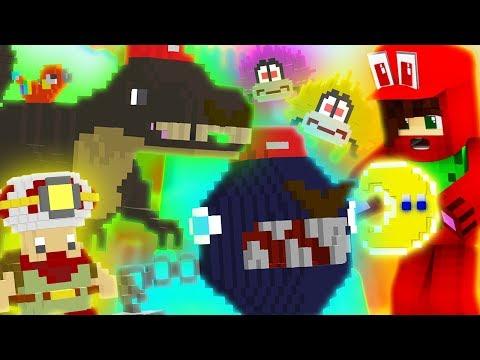 Minecraft Super Mario Odyssey Episode 2 - T-REX IN CASCADE KINGDOM! (Minecraft Super Mario Roleplay)