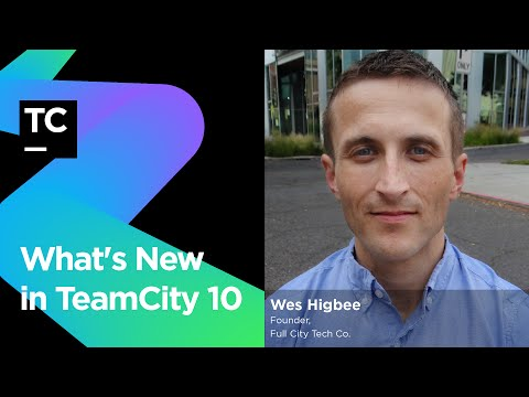 What's New in TeamCity 10