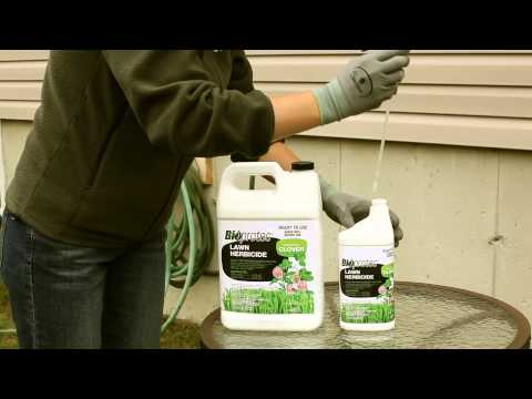 Bioprotec Lawn Herbicide for Clover - Instructions