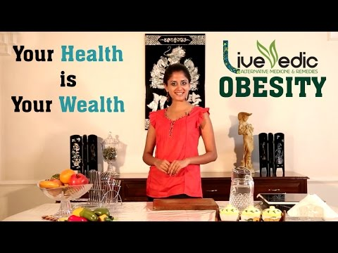 DIY: Cure Obesity with Natural Home Remedies | LIVE VEDIC