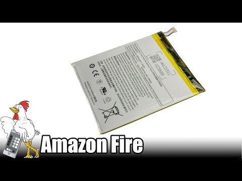 Guía del Amazon Fire: Cambiar batería