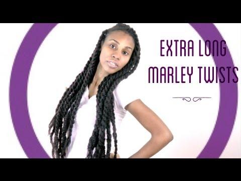 How to Create Extra Long Marley/Havanna Twists