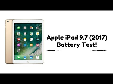 APPLE iPAD 2017 BATTERY TEST
