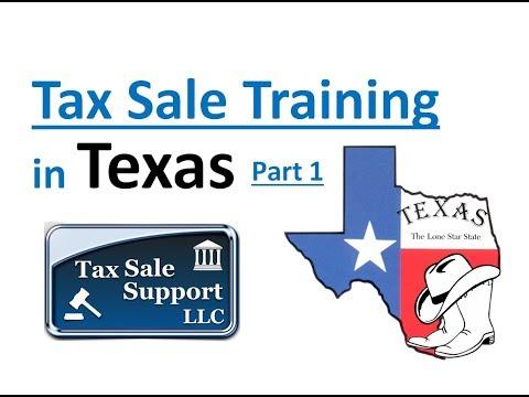 Texas Tax Sale Investing Tutorial (Part 1) Tax Deeds!