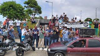 AGORA   MOTORISTAS PROTESTAM CONTRA UBER PROMO E 99 POUPA
