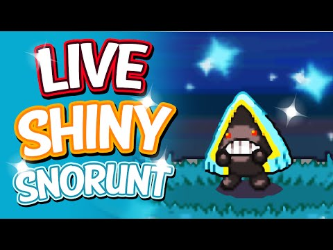 Live Shiny Snorunt After A Chain Of 41 Via PokeRadar - Pokemon Platinum