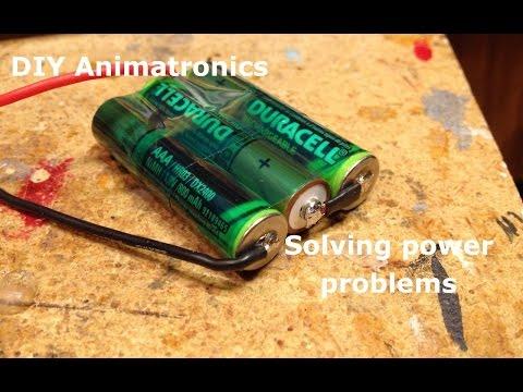 DIY Animatronics Episode 3: Solving power problems