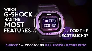 G-Shock GW-B5600BC = MAX FEATURES / MINIMUM COST (Best value G-Shock)