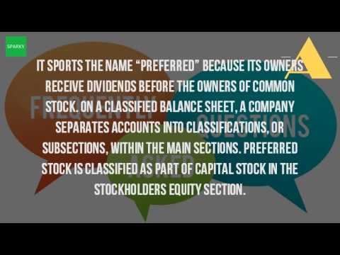 What Is Preferred Stock In The Balance Sheet?