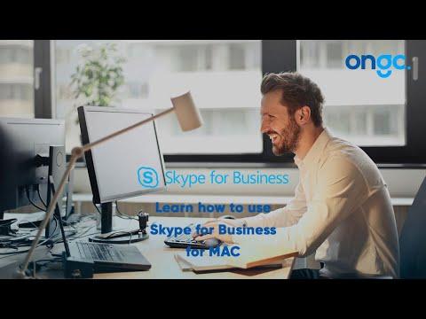 Online Meeting Skype for Business MAC