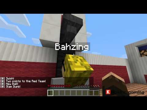 Minecraft Basketball!