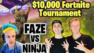 MY BROTHER WON $20,000 PLAYING FORTNITE?!? Faze Tfue & Cloakzy VS Ninja| JOOGSQUAD PPJT