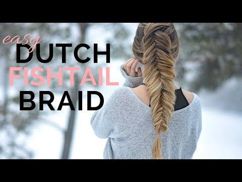 HOW TO: Dutch Fishtail Braid | Braids by Jordan