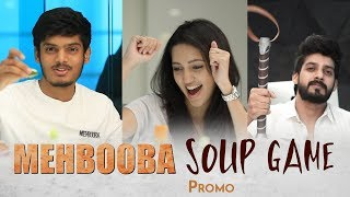 Mehbooba Soup Game Promo | Akash Puri | Neha Shetty | Vishu Reddy | Puri Jagannadh