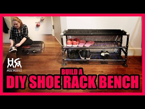 How to Make A Shoe Rack | Great Apartment Project