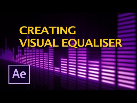 How To create visual equalizer in after effects