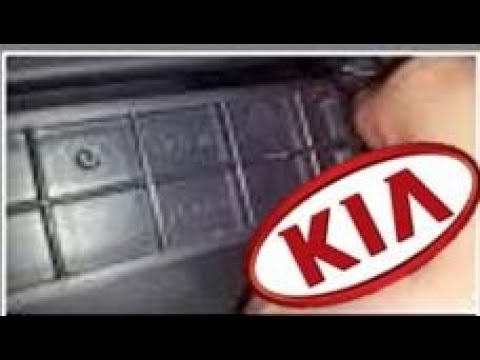 2012 Kia sportage cabin air filter