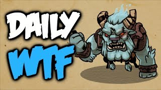 Dota 2 Daily WTF - Space cow diaries