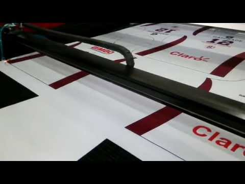 Sublimation Digital Printing Jerseys Laser Cutting Machine