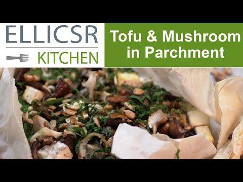 Tofu & Mushroom in Parchment