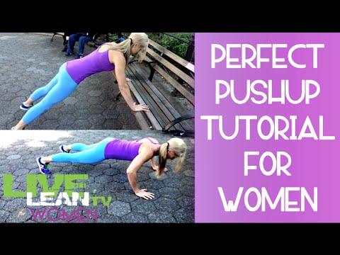 Pushup Tutorial for Women - No more