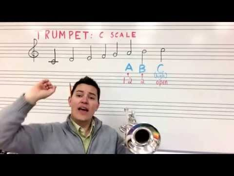 Trumpet A, B and high C
