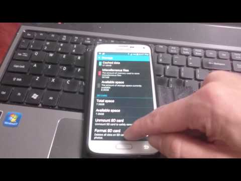 Galaxy S5: How to Format (Erase/Delete) SD Card