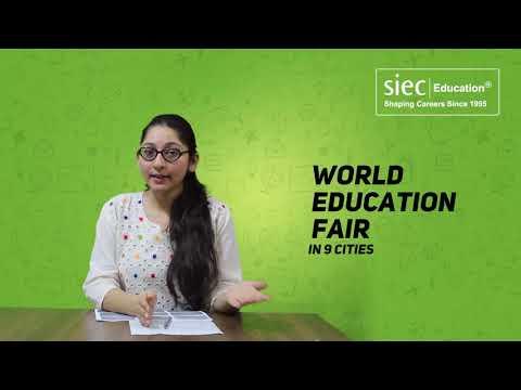 Study Abroad   SIEC's World Education Fair 2018 in Amritsar