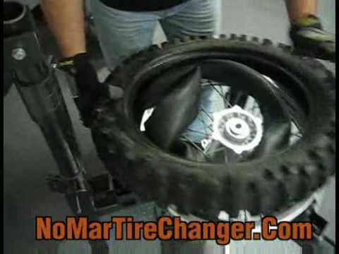 Changing a Tubed Dirt bike Tire