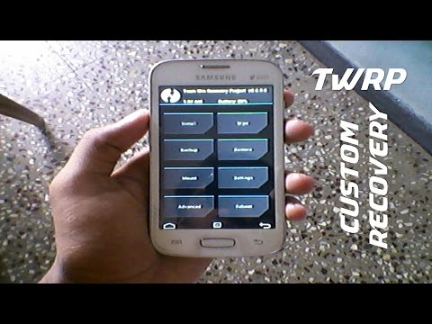 How to install TWRP custom recovery in Samsung galaxy star pro