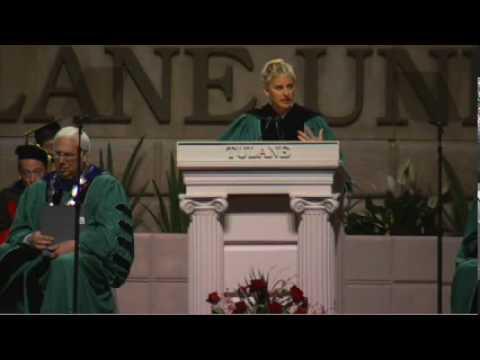 Ellen DeGeneres at Tulane's 2009 Commencement Speech