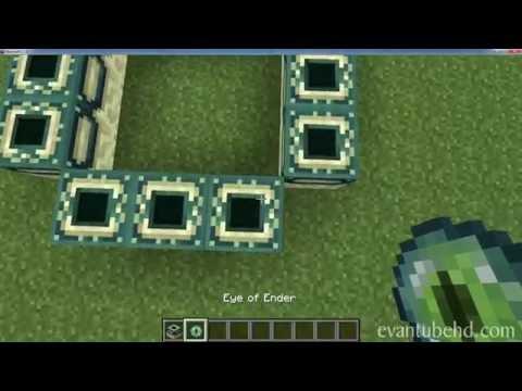 How to Build the END PORTAL (Bonus Video)
