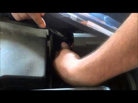 How To Change Headlight Bulb On 2010-2013 Mazda 3